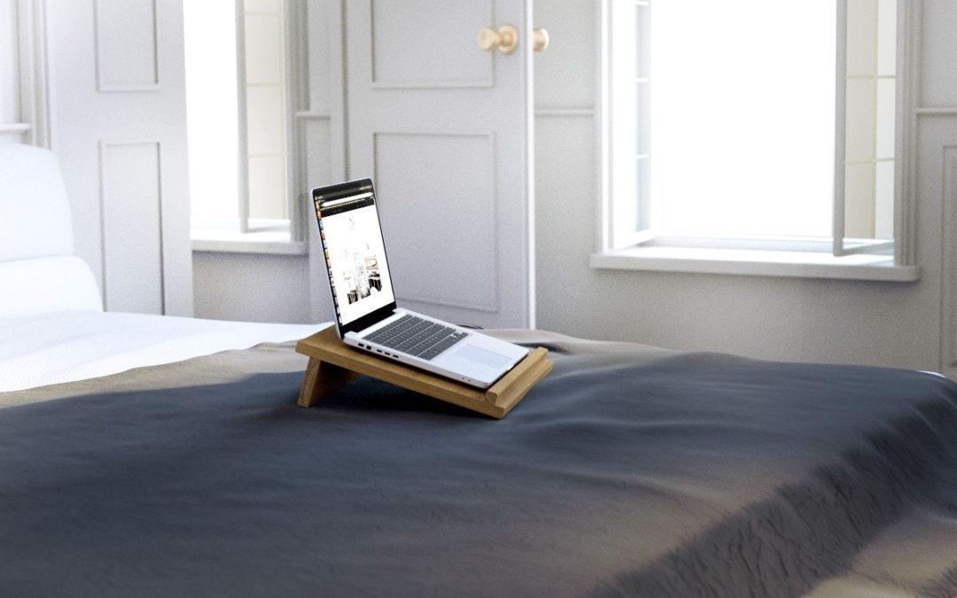 Stolik pod laptopa – komfort i styl skandynawski w komputerowym wydaniu.