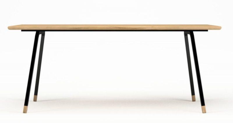 Stół do salonu w stylu skandynawskim