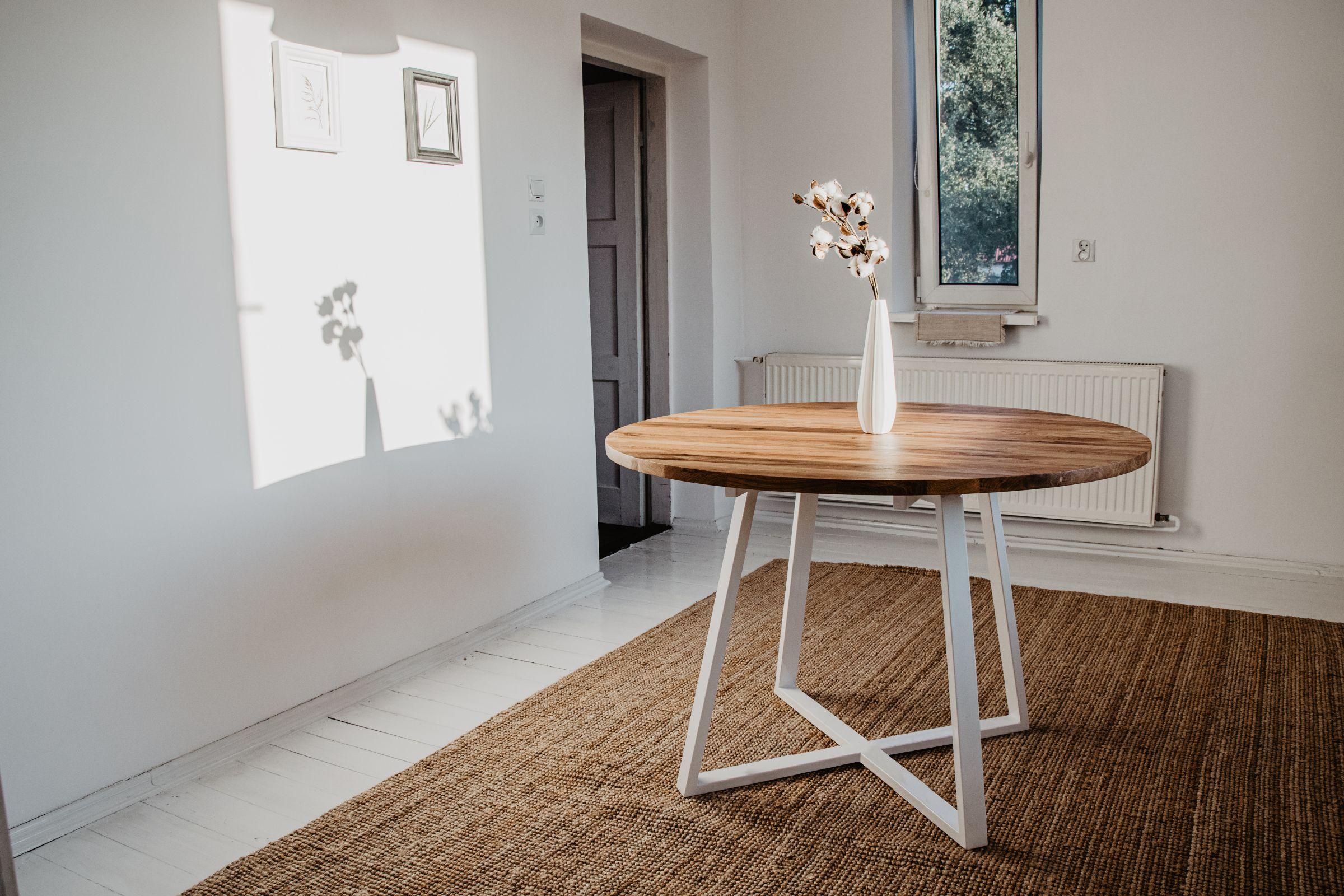 1_Måne White II Round Table
